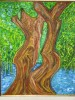 Roots of Love,40x50cm<br/>2007