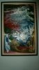 Sunrise, Tambour oil on canvas<br/>2015